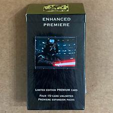 Star Wars CCG Enhanced Premiere Darth Vader w/Lightsaber Factory Sealed Pack