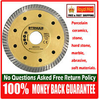 Porcelain Tile Cutting Diamond Blade Disc Marble Stone 115mm Angle Grinder Disc
