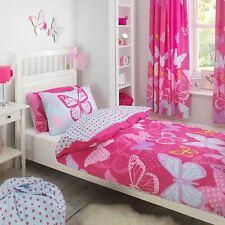 Textile Warehouse Butterfly Pink Girls Kids Childrens Duvet Cover Bedding Set