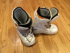 New listing Womens Burton Ion Grom Imprint 2 White Snowboard Boots Sz 7/ Eur 40