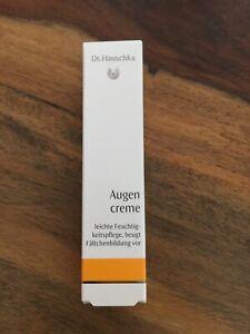 Dr. Hauschka Augencreme 12,5 ml neu unbenutzt OVP MHD 12/2021