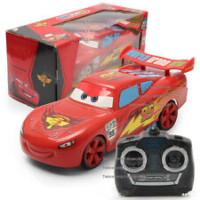"""1Cars 3 Cars 2 Lightning McQueen 95 Cars 9"""" RC Car 4CH Remote Radio Control TOY"""
