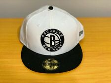 Authentic New Era 59Fifty Fitted Cap Brooklyn Nets 7 5/8