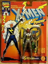 Marvel X-Men Power Glow Storm Mutant Super Heroes Action Figure ToyBiz 1993