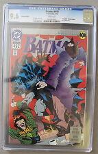 BATMAN #492 Platinum Edition KNIGHTFALL 1993 BANE Low Print Scarce CGC NM+ 9.6