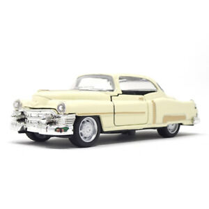 Modellino scala 1:43 Cadillac Serie 62 1953 modellismo 1/43 epoca metallo BIANCO