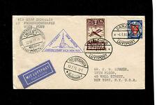 Zeppelin Sieger 116 1931 Austria Flight Danzig Treaty Dispatch to USA