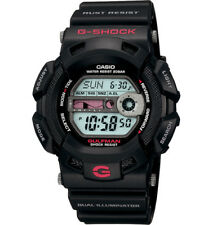 Casio G-Shock GULFMAN Mens Digital Black Illuminator Watch G-9100-1 G-9100-1DR