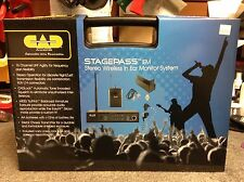 Cad Stagepass In Ear Monitor System