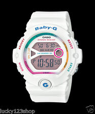 BG-6903-7C White Casio Baby-G Watches Resin Band Mineral Glass Brand-New Digital