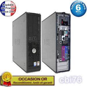 Dell Optiplex 755 SFF Intel Pentium E7200 2,5GHZ 3GO 160GO Intel Q35 Windows XP
