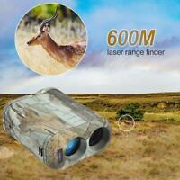 600m 6X Hunting Laser Rangefinder Distance Meter for Golf Sport Hunting Survey