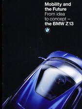 1993 BMW Z13 Concept Car Original 18-page Brochure Catalog