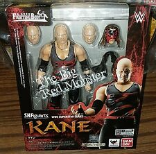 Bandai S.H.Figuarts Wwe Superstar Series The Big Red Monster Kane Action Figure
