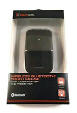 New BlackWeb Wireless Bluetooth Touch Mouse with Laser Presenter 75 ft Range