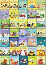Usborne Early School Reading Collection 35 Children Books Set Farmyard Phonics