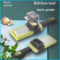Utensil Garlic Grinder Wasabi Grinding Plate Carrot Vegetable Ginger Grater LI