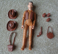 "Vintage 9"" Johnny West Series Action Figure Moveable Marx with Accessories Jamie"