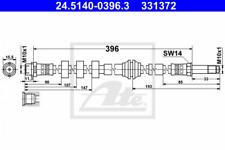 Bremsschlauch für Bremsanlage Hinterachse ATE 24.5140-0396.3