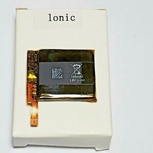 for Fitbit Ionic, Rechargeable Li-ion Battery 3.8 V, 195mAh