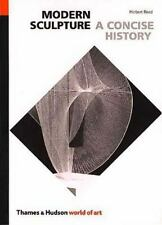CONCISE HISTORY OF MODERN SCULPTURE -- Herbert Read softcover