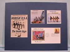 The Beach Boys - Surfer Girl, Surfin' Usa & Surfin' Safari & First day Cover