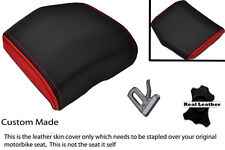 RED & BLACK 08-12 CUSTOM FITS YAMAHA 600 YZF R6 REAR SEAT COWL PAD COVER