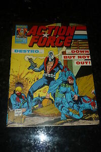 ACTION FORCE - No 45 - Date 09/01/1988 - Marvel Comic