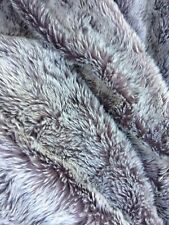 Large Fake Fur Throw Cover Spread 50x60 inch