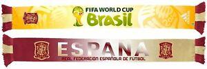 Adidas Spain Espana 2014 FIFA World Cup Authentic Team Scarf