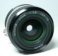 Nikon AiS Nikkor 2.8 24mm Objektiv  An-Verkauf  ff-shop24