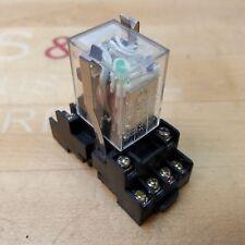 rele relais relay 12 volt dc  bistabile 4 scambi 250 Vac 5A matsushita NC4-PL2