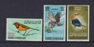 Jordan - 1964, Air. Birds set - M/m - SG 627/9