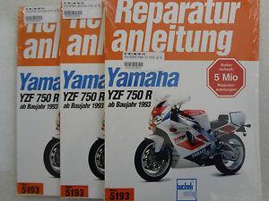 Reparaturanleitung,Werkstattbuch, YAMAHA YZF 750 R , SP, 4HN, ab 1993, Band 5193