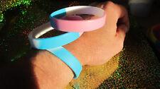 TRANSGENDER - LGBT Pride Silicone Wristband Bracelet