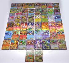 Hot ! New Pokemon TCG : 50 FLASH CARD LOT RARE 14 MEGA+36 BASIC CARDS NO REPEAT