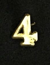 "Civil War - Indian Wars, Brass Number ""4"" for Forage Cap or Kepi, Reproduction"