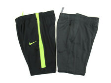 Nike Black Yellow / Gray Dri Fit Soccer Terma Warm Athletic Pants Lot of 2 Med
