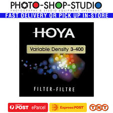 Hoya 77mm Variable Neutral Density ND3-400 Filter 1.5-9 Stop Reduction #C494077