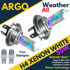 Xenon Super White H4 Headlight Bulbs 472 60/55w 12v Hid