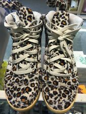 Adidas Jeremy Scott Leopard Print Tails Shoes Fur Rare Originals Men's 9 1/2