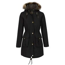 Jack Murphy Womens Alexis Waterproof & Breathable Parka Jacket with Faux Fur