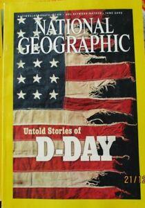 NATIONAL GEOGRAPHIC MAGAZINE JUNE 2002