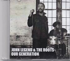John Legend-Our Generation promo cd single