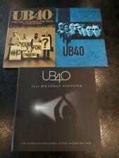 2 UB40 Tour Programmes & 21st birthday souvenir programme for United nations