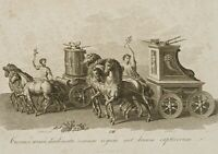 G. DÖBLER (1789), n. FRIESE, Römischer Triumphzug, Sieg, Militär, Antike, 1819