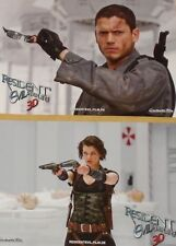RESIDENT EVIL 4 - Afterlive - Lobby Cards Set - Milla Jovovich, Wentworth Miller