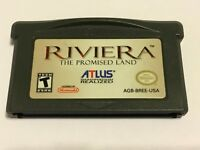 Riviera: The Promised Land (Nintendo Game Boy Advance, 2005) GBA Used