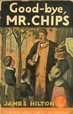 GOOD BYE MR CHIPS by JAMES HILTON Pocket paperback 1934 1941 4th