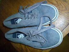 Blue denim Van trainers shoes Mens US 4 Womens US 5.5 Uk 4